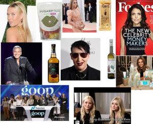 celebrity consumer brand product startup